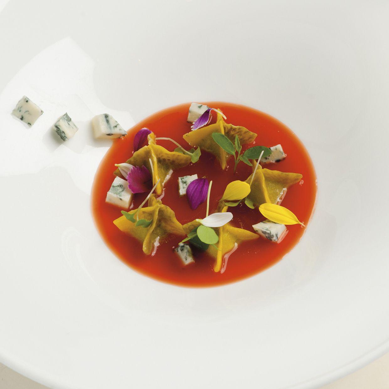 Pasta e fiori gorgonzola e colatura di insalata di for Ricette di pasta