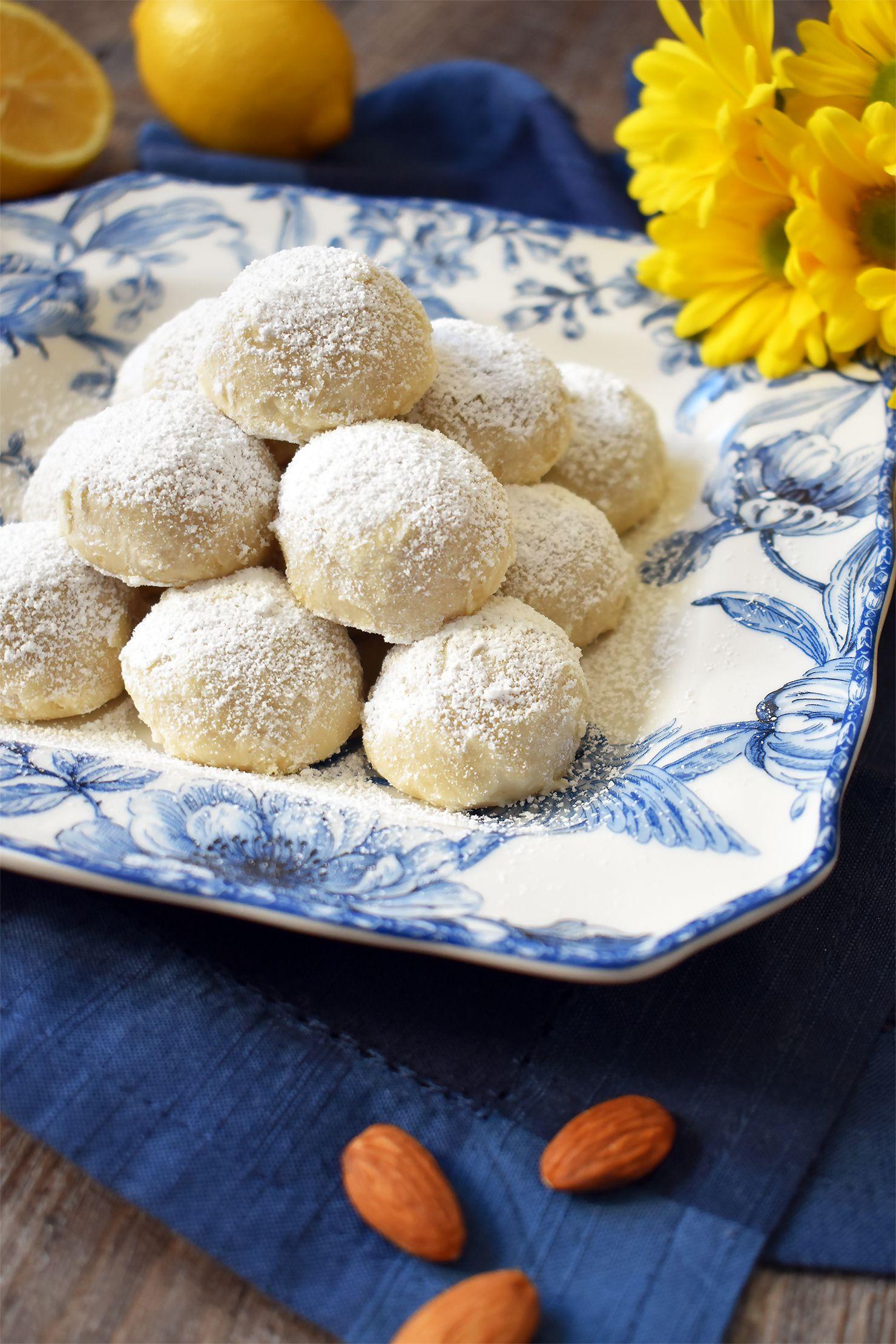Vegan Lemon Wedding Cookies Vegan Cookies Oh Hotcakes