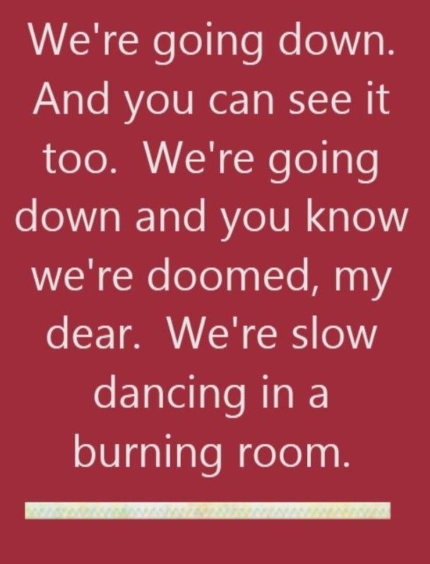 John Mayer - Slow Dancing in a Burning Room - song lyrics, song ...