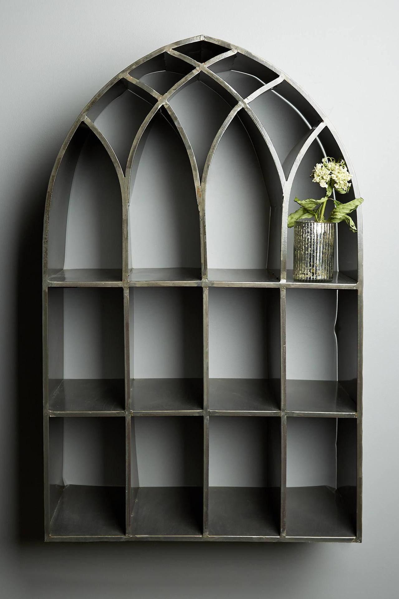 Gothic Arch Shelving Gothic Home Decor Gothic Furniture Gothic