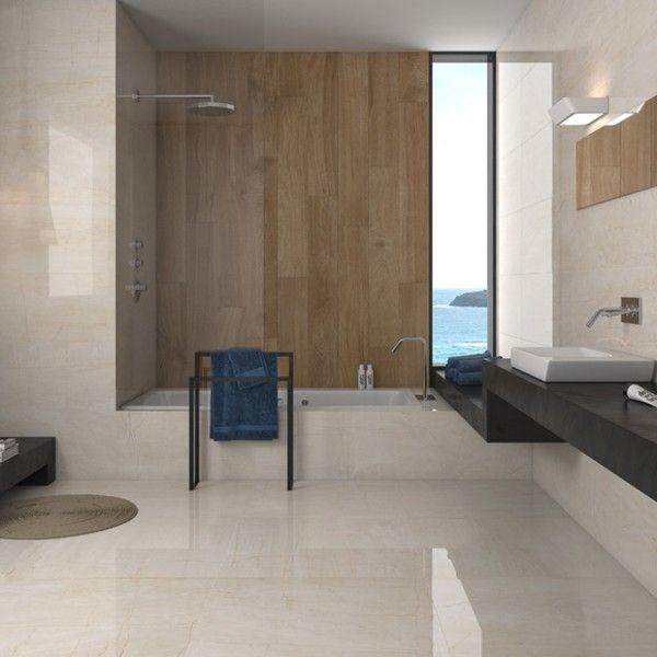 sweet porcelain cream floor tiles  large tile bathroom