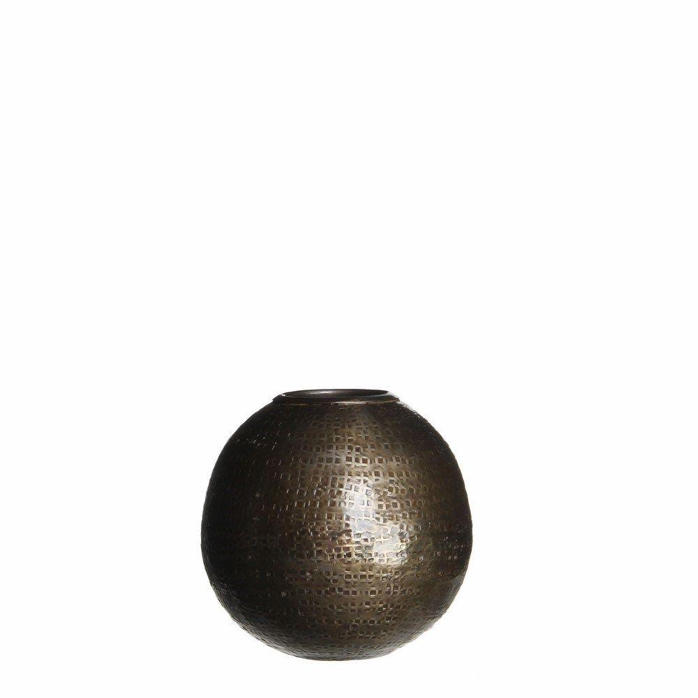 Casa Vivante Cara Waxinelichthouder 7 cm - Brons