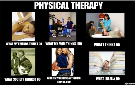 Quote About Physical Therapy: Sounds Familiar? #Physio #JustLivingTheDream