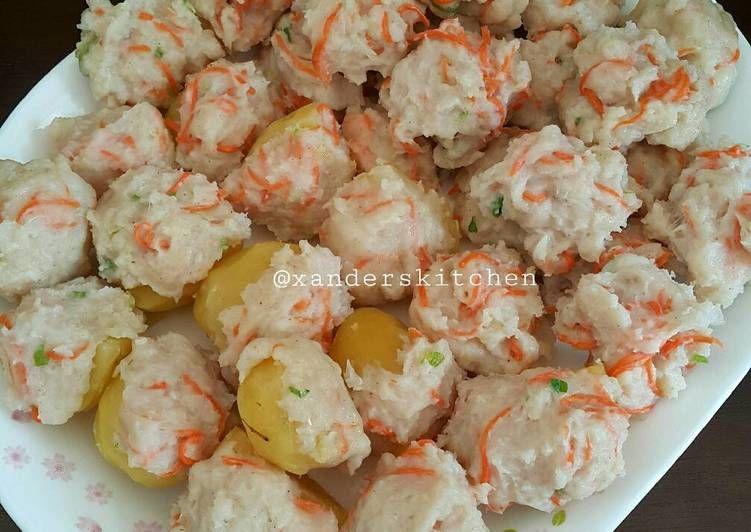 Resep Siomay Ikan Oleh Xander S Kitchen Resep Resep Resep Sederhana Resep Salmon