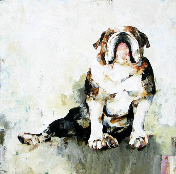 Amanda Price Art Artist Feature Constance Bachman Bulldog Art