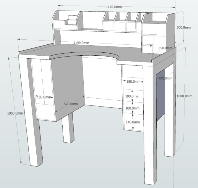 sketchup woodworking