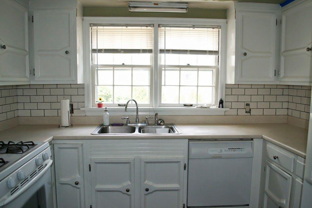 Sink Off Center From Window Kitchen Reno Kitchen Diy