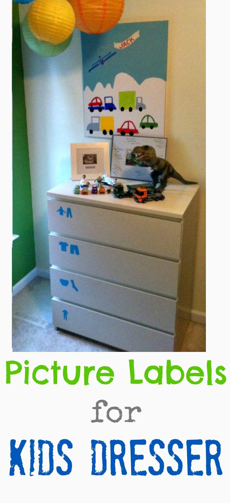 Labels For Kids Dresser Giveaway Included Noah Robert