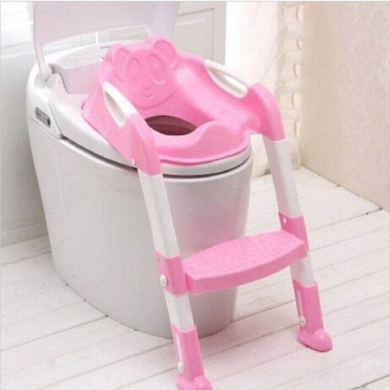 Baby Potty Seat With Ladder Children Toilet Seat Cover Kids Toilet Folding  Infant Potty Chair Training