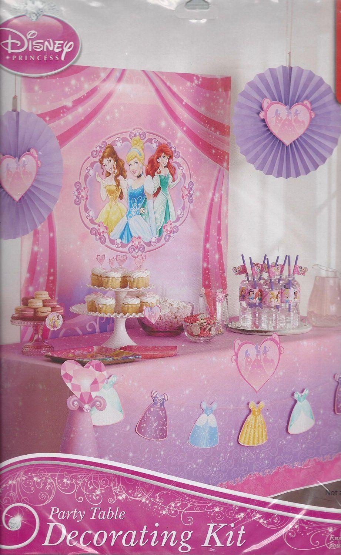 AmazonSmile Disney Princess Party Decorating Kit Toys Games