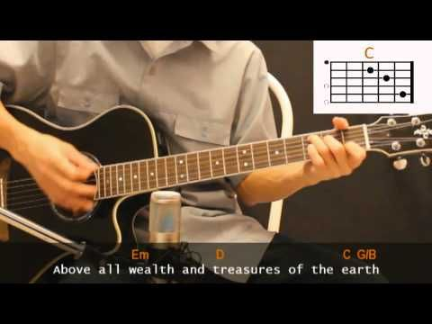 Michael W Smith Above All Cover With Guitar Chords Lesson