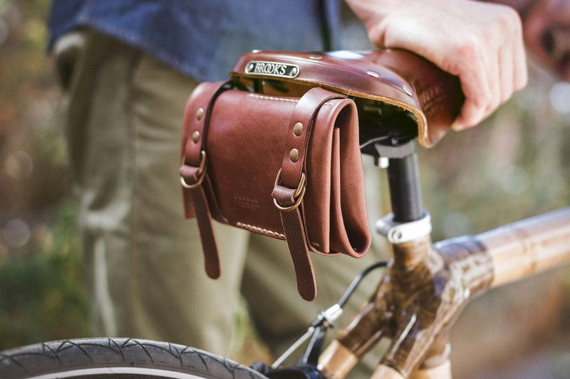 Bike Bags Leather Bike Toolkit Roll A Unique Product By