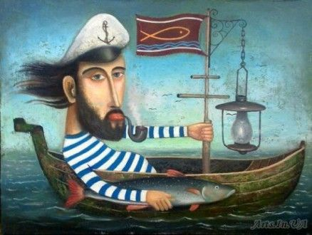 Sea dog, David Martiashvili