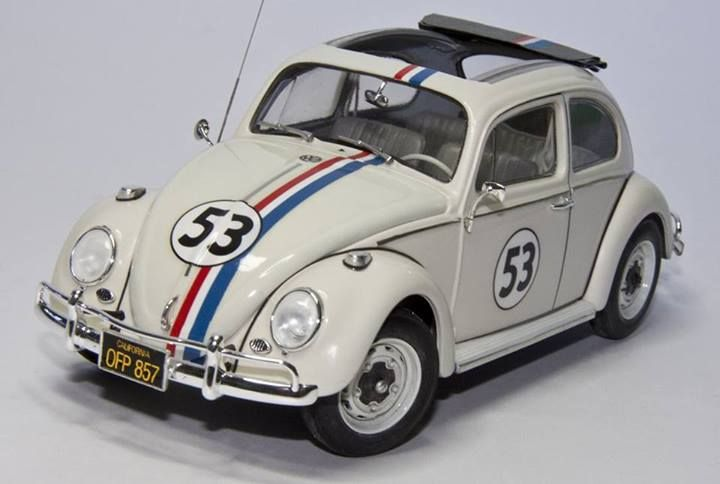 392a1e11bf Herbie The Love Bug 1963 VW 1300 Volkswagen Beetle die-cast car (date  unknown).