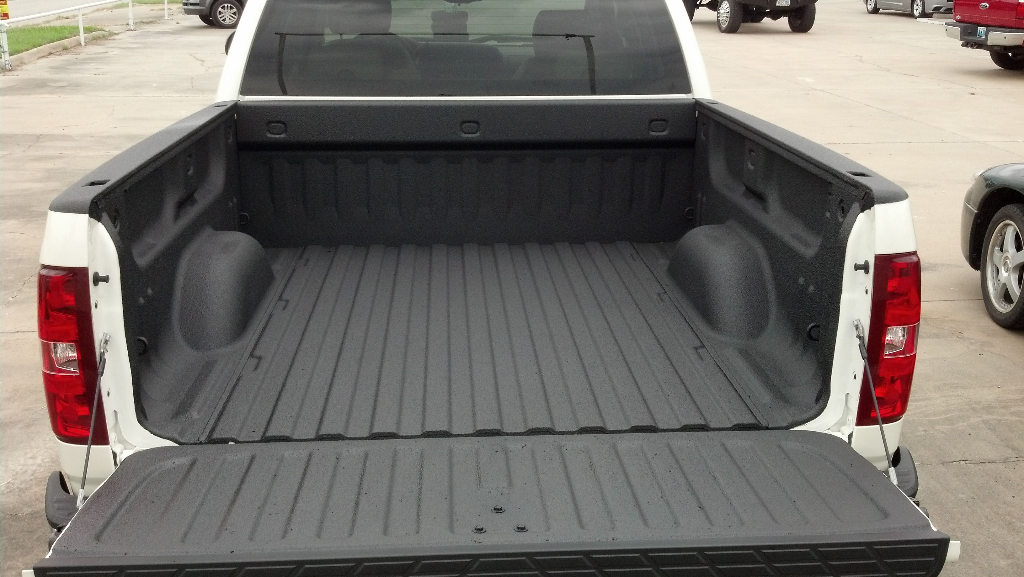 Spray Bedliner On Swb Chevy Truck