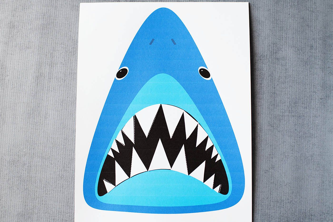Find Sharky S Teeth Printable Shark Game