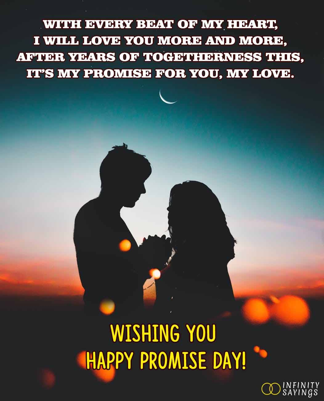 Promise Day Quotes Messages For Girlfriend And Wife Happy Promise Day Promise Day Messages Message For Girlfriend
