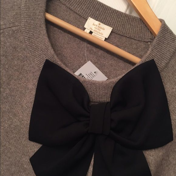 Kate Spade Bow Sweater September 2017