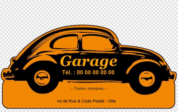 Carte De Visite Garage Auto Crez Gratuitement Partir Modle En Ligne Votre