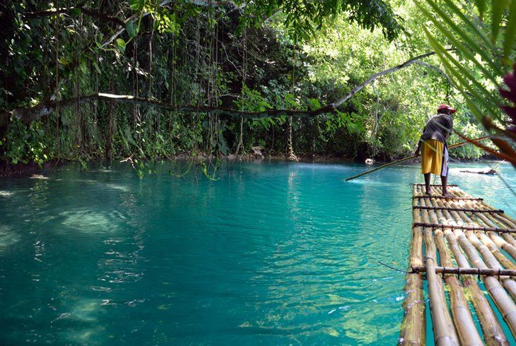 The Water Really Is This Blue Blue Lagoon Jamaica