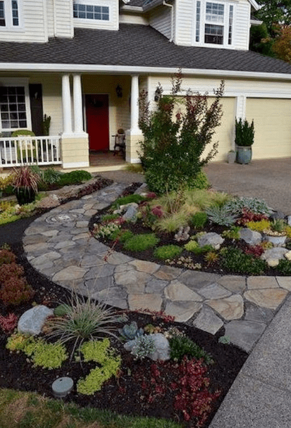 20+ Georgeus Front Yard Lanscaping Ideas