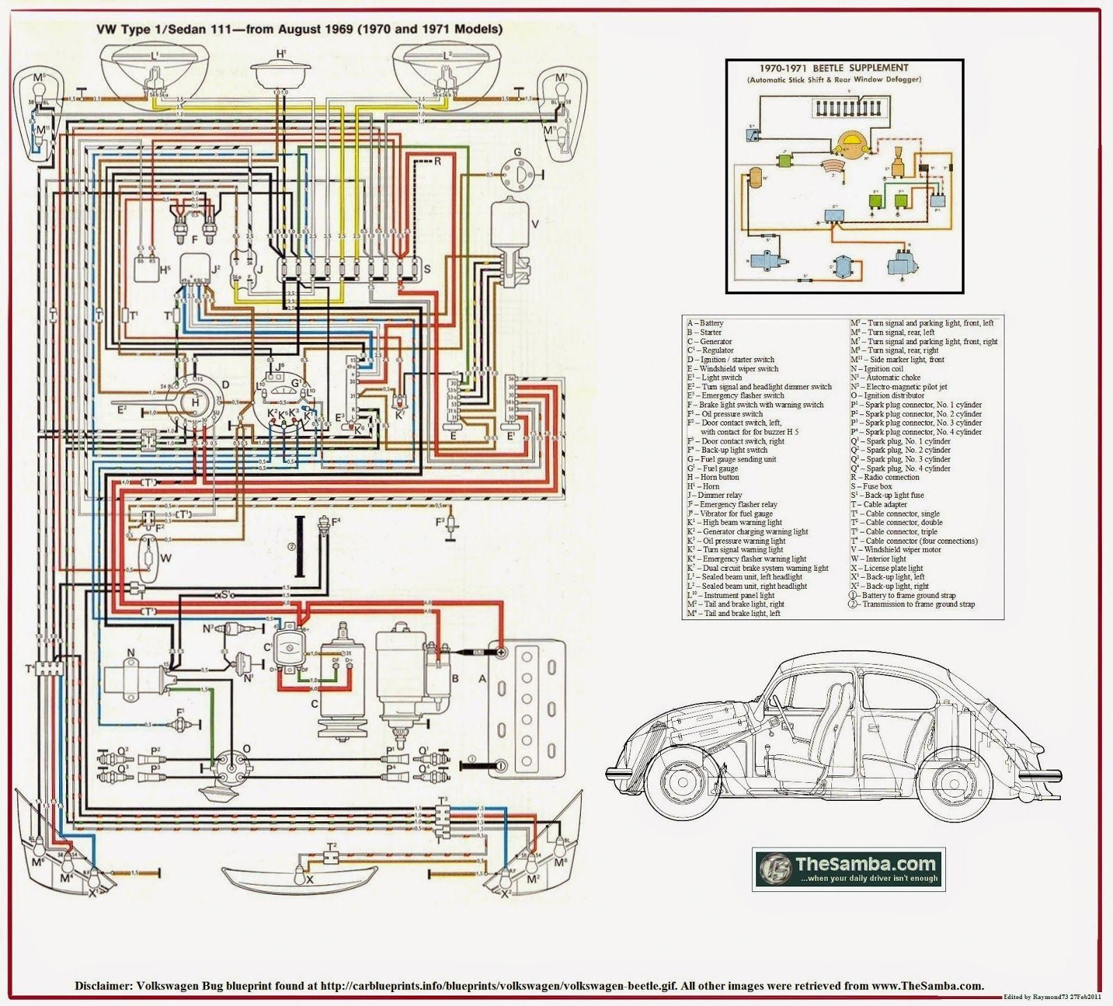 For Volkswagen Vw Enthusiasts Into Vw Beetle Type 1 Repair Restoration The Type 1 Wiring Diagrams And Specifications Be Volkswagen Volkswagen Beetle Beetle