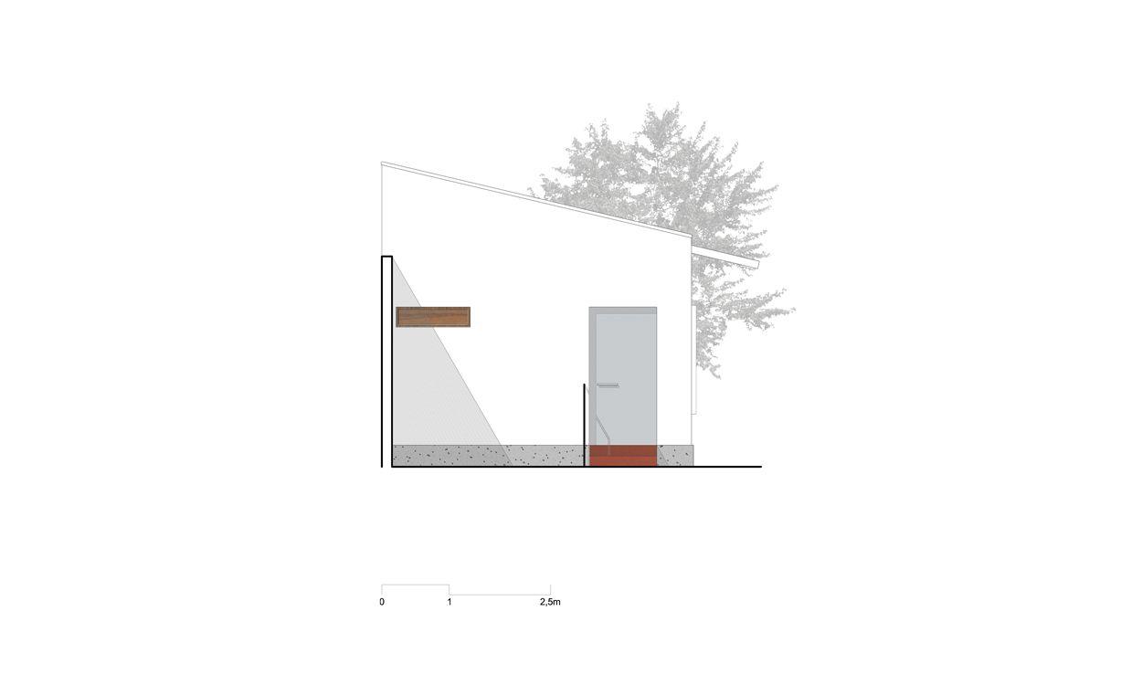 SABOIA + RUIZ ARQUITETOS - Escritório - Elevação frontal