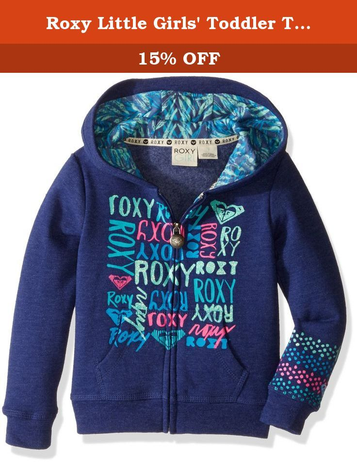Roxy little girls toddler time coast hoodie blueprint 2 keep roxy little girls toddler time coast hoodie blueprint 2 keep yourself warm malvernweather Gallery