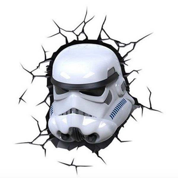 Star Wars 3d Light Light With The Force Theapollobox Roomdecor Starwars Stormtrooper Starwarsf Star Wars Themed Bedroom Night Light Kids Star Wars Theme
