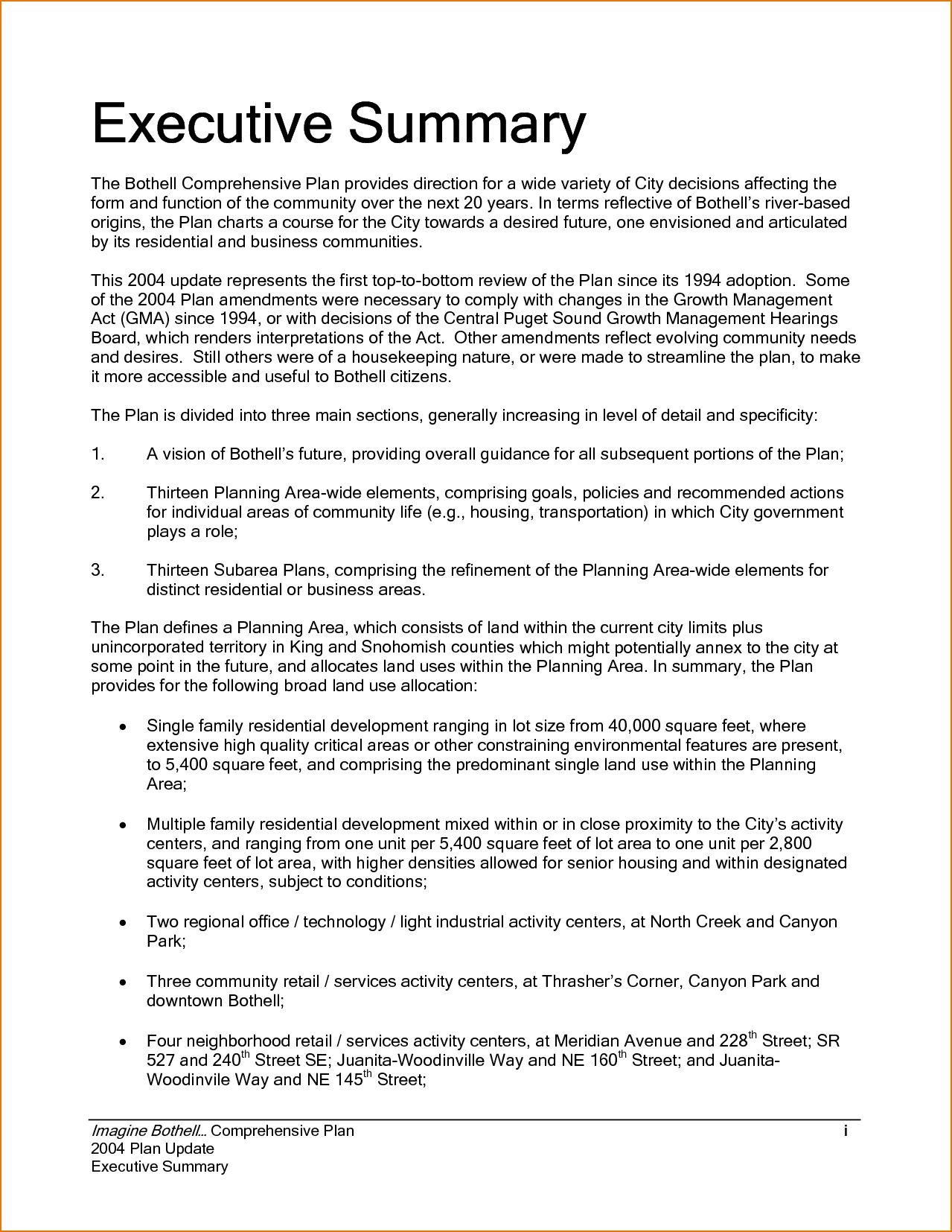 The Awesome Executive Summary Example Incident Report Template Sample Throughout Trainin Executive Summary Template Executive Summary Example Executive Summary Examples of executive summary template