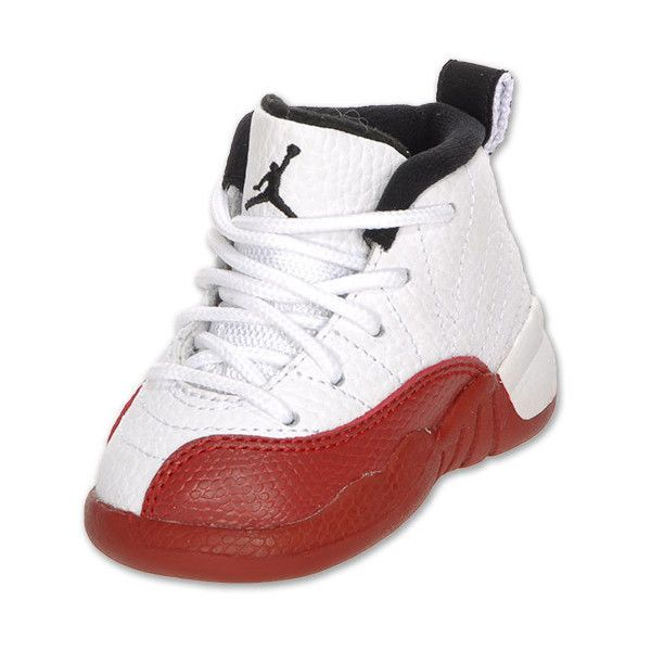 c51603ee3dd Air Jordan Retro 12 Toddler Basketball Shoes ❤ liked on Polyvore featuring  baby, baby clothes, shoes, baby shoes und baby stuff
