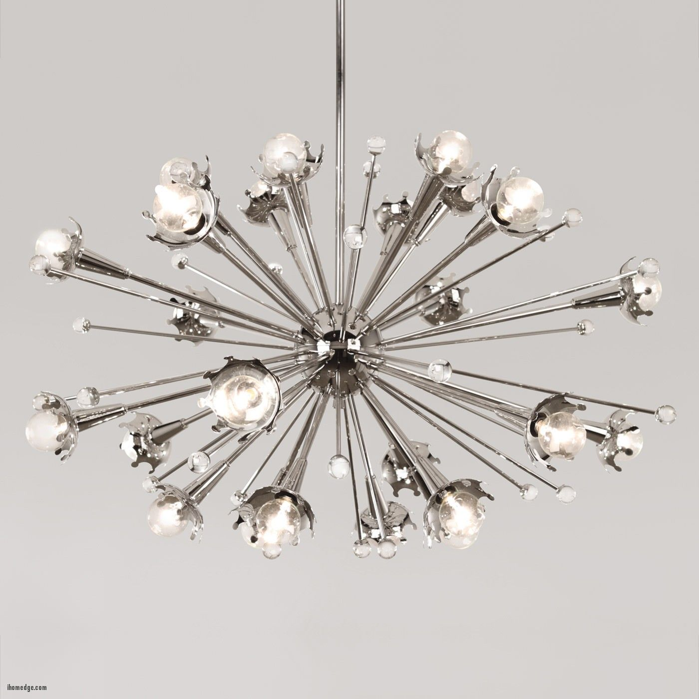 Mid Century Merges With Modern Style In This Spectacular Sputnik Chandelier Maximum Drop X Minimum At Lamps Plus
