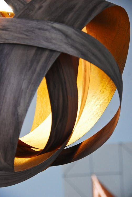 Make this Homemade Holiday Gift: Wood Veneer Pendant Lamp ...