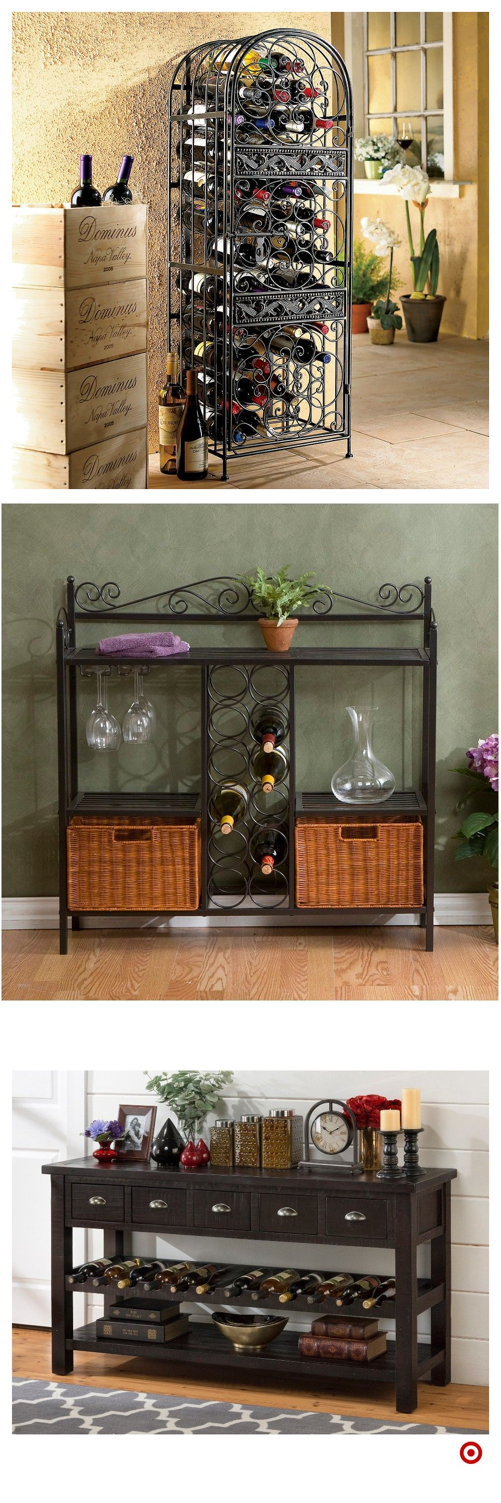 Shop Target for wine rack you will love at great low prices. Free ...