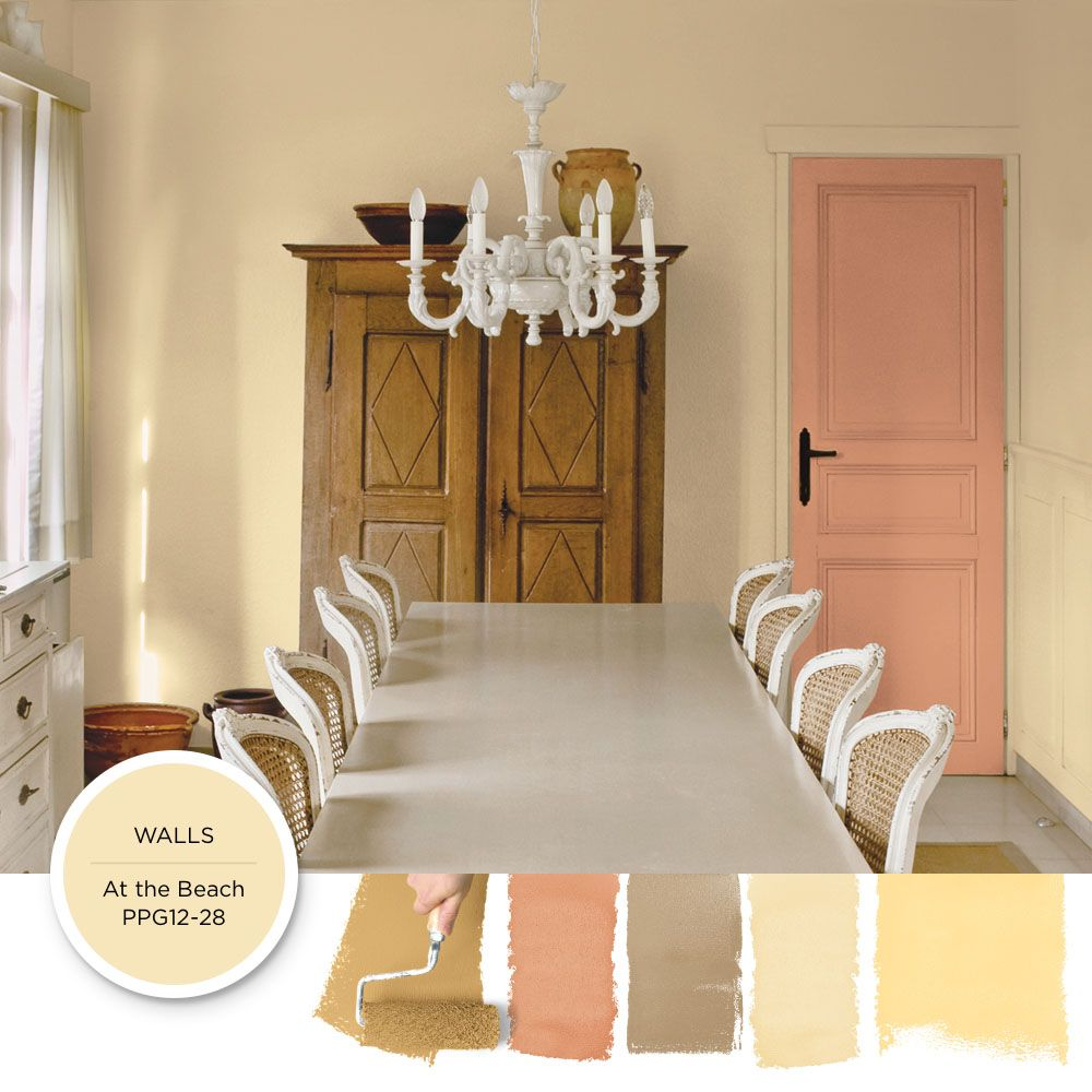 Use This Parchment Toned Paint Color To Add An Antique Appeal To A French Countr French Country Color Palette French Country Colors French Country Paint Colors