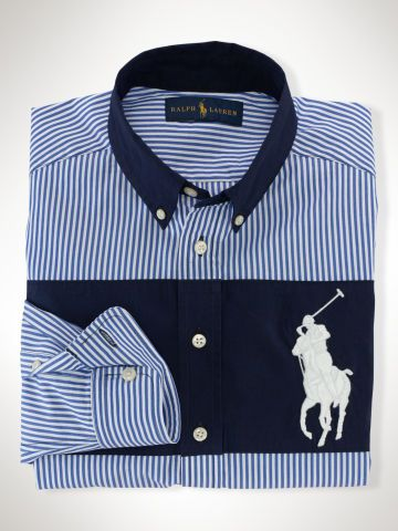 ba96ddcd8 Big Pony Cotton Oxford Shirt - Boys 8-20 Sport Shirts - RalphLauren ...
