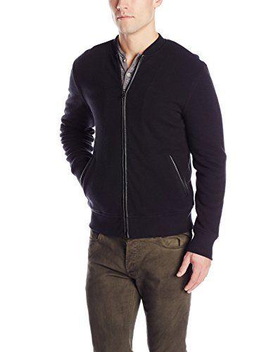 John Varvatos Star USA Men's Fleece Lined Zip Front Baseball Inspired Jacket, Black, Medium John Varvatos http://www.amazon.com/dp/B00WMIZSOG/ref=cm_sw_r_pi_dp_zEa-wb0T5FQG5