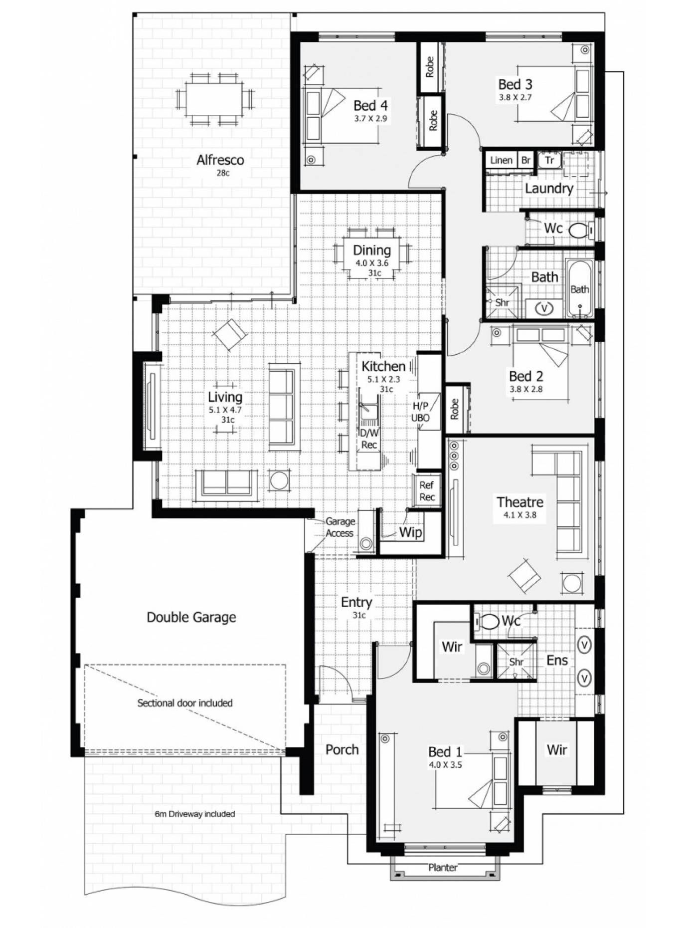 The Liberty By Homebuyers Centre Display Homes Home Buying Bedroom House Plans
