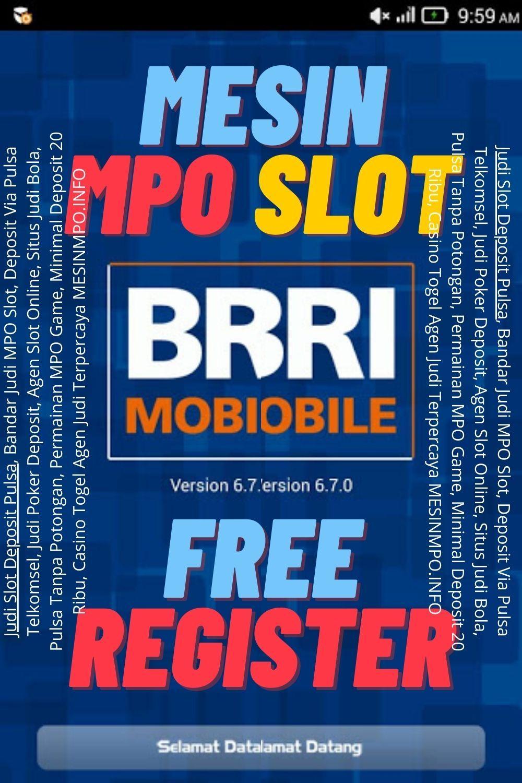 Mesin Mpo Slot Bri Online 24 Jam Slot Online Slot Make It Yourself