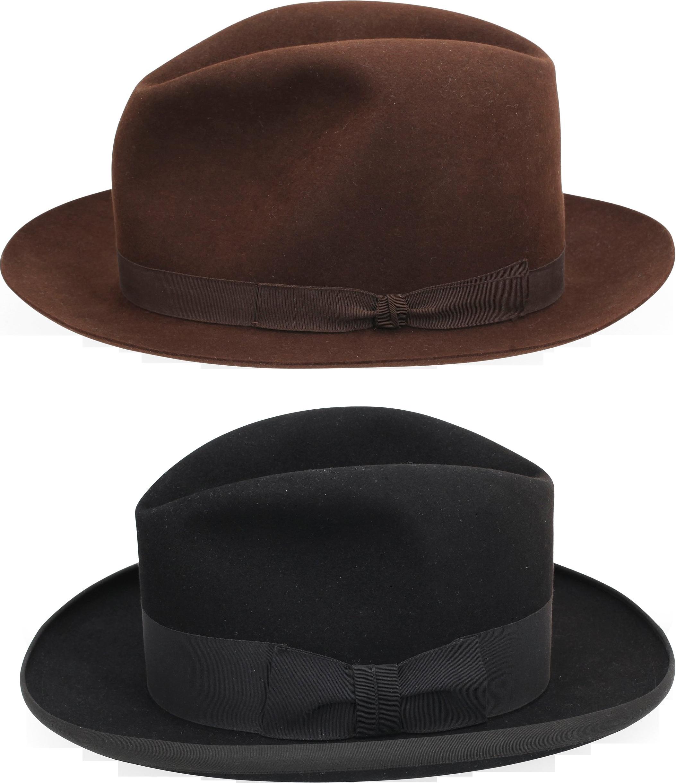 Two Chocolate Black Hat Png Image Hats Black Black Hat
