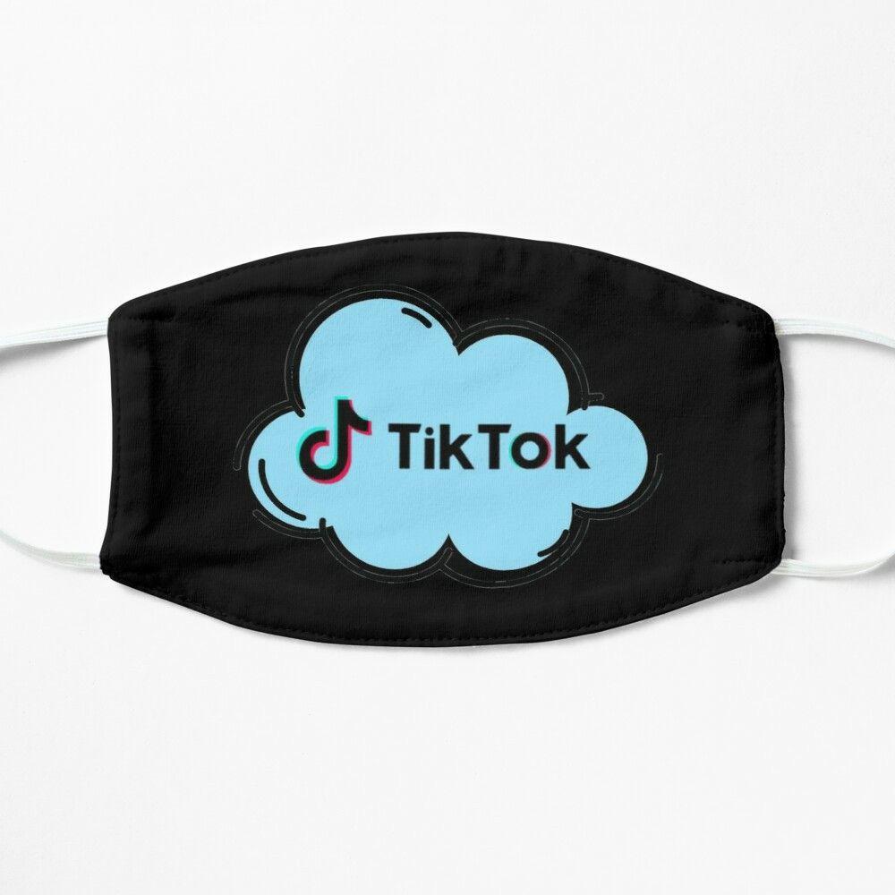 Tik Tok Logo Mask Tik Tok Tok Mask