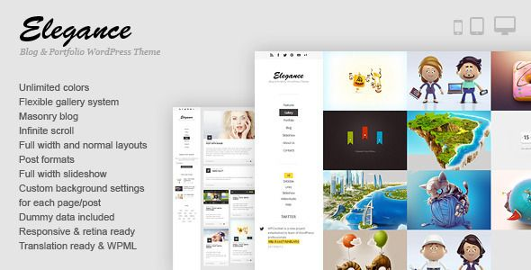 Review Elegance - Responsive Portfolio WordPress Themeonline after you search a lot for where to buy