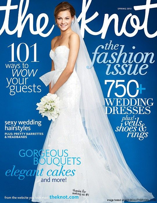 The Knot Wedding Magazine Cover Google Search