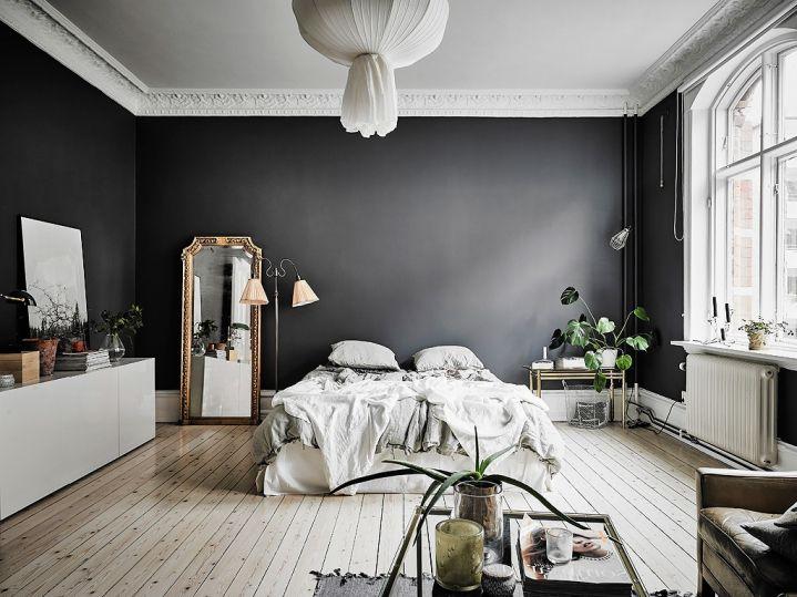 Donkere Woonkamer Inrichten : Woonkamer ideeen muur mooi van donkere muur woonkamer een