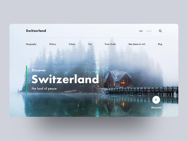 Switzerland Country Series 01 Web Design Web Design Tips Website Design