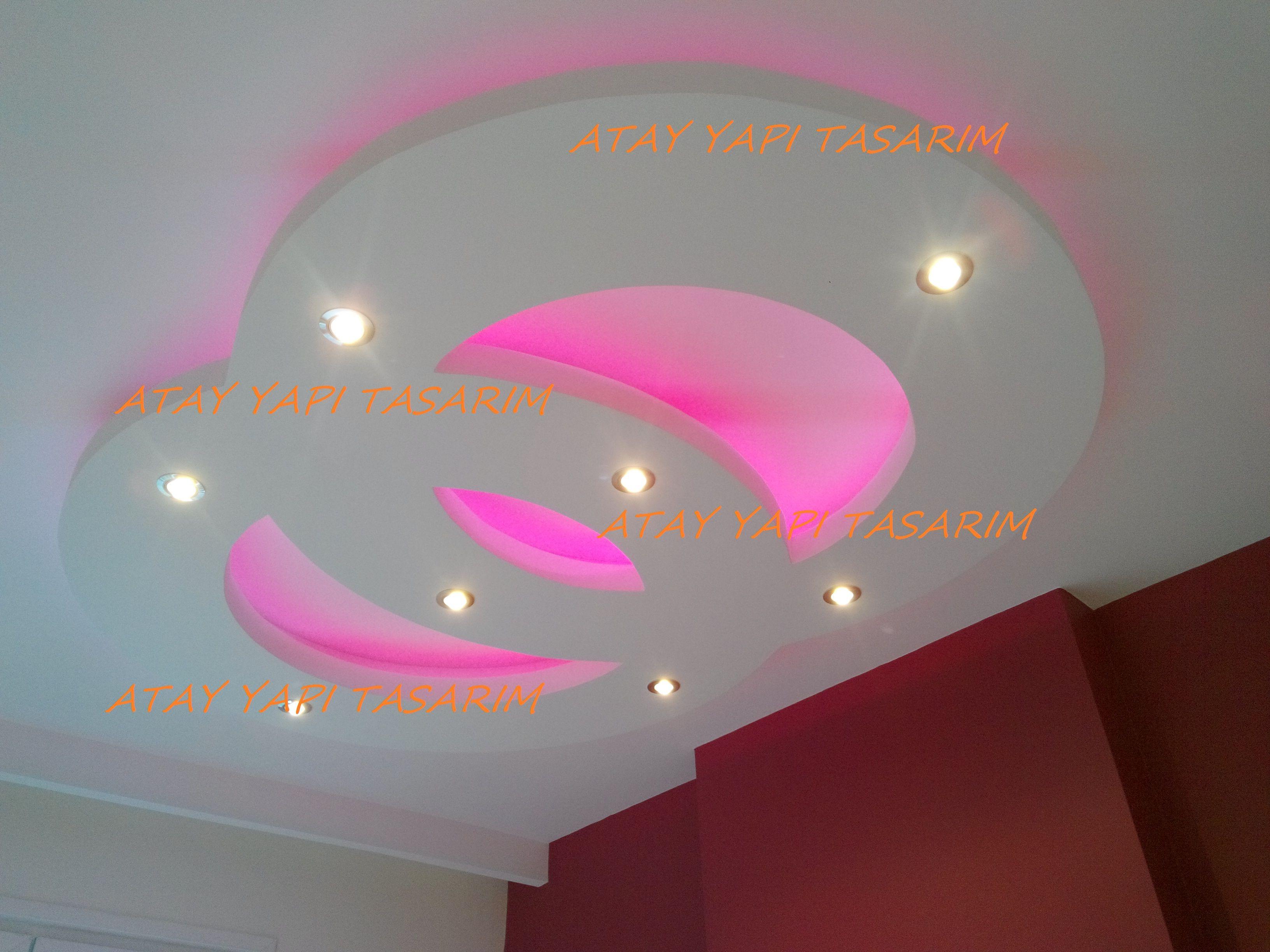 Asma tavan modern resimli isikli ev dekorasyon fikirleri - Asma Tavan Modelleri Detaylar Rnekleri Resimleri E Itleri Izimleri Gizli
