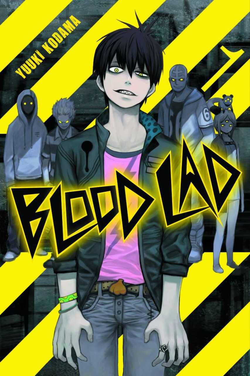Vlad Charlie Staz from Blood Lad Otaku anime, Anime