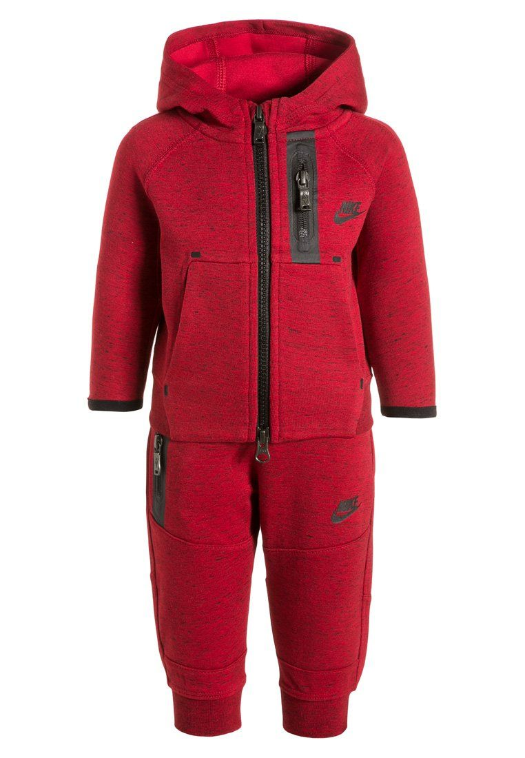 3bf4d55bba7f Nike Performance TECH - Tracksuit - gym red black for £48.00 (15 12 15)  with free delivery at Zalando