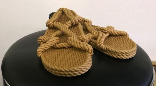 Gurkee Rope Sandals Gurkees Barbados Beach Style Size 8