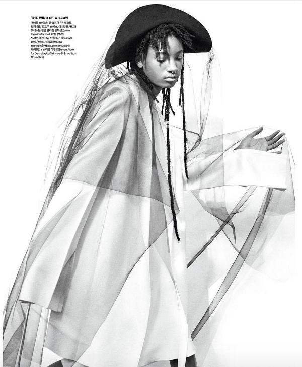 Willow Smith Peter Ash Lee Vogue Korea